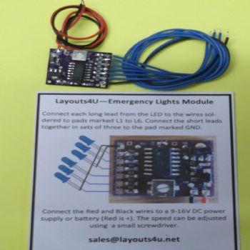 Emergency Lights Module